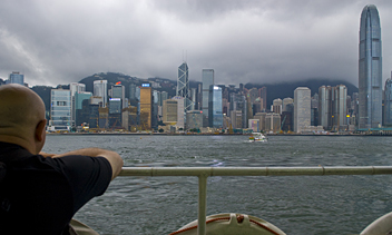 Hong Kong Island from Star Ferry