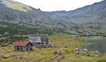 The oldest mountain hut in Bulgaria. - by Cita