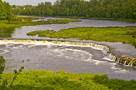 Kuldiga - waterfall on the Venta River - by arnis buza