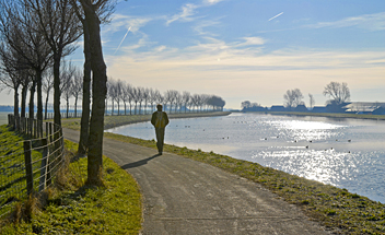 Trekvogelpad, LAW2 - Noord-Hollands Kanaal - by Henk