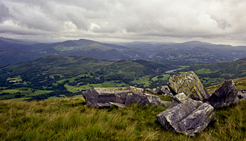 Descent from Cadair Idris
