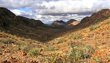Larapinta Trail - by Andrew