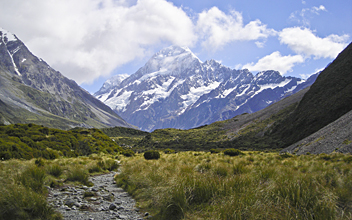 Mount Cook - by Chris
